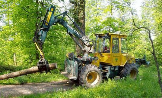 Traktor Forst